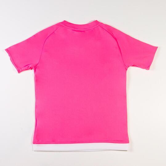 ADIDAS ESTRO Camiseta 15 Rosa Niño (8-14)