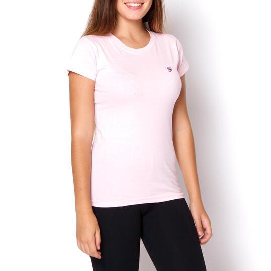 UP Camiseta Rosa Mujer