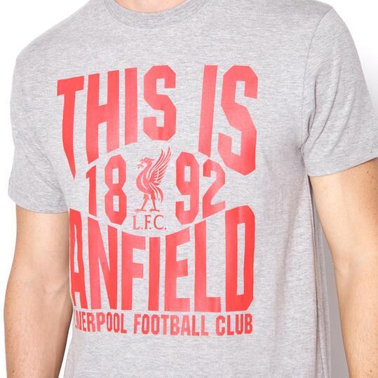 SOURCE LAB Camiseta Liverpool Gris