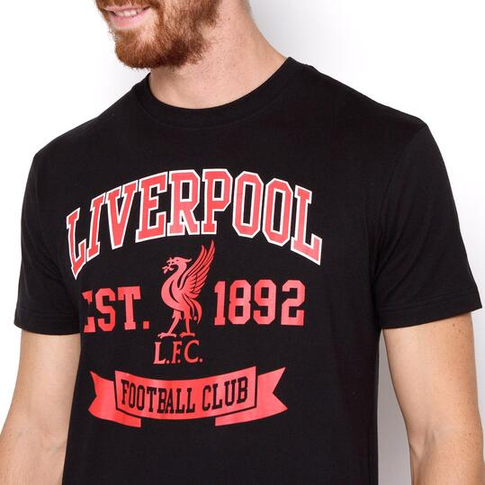 SOURCE LAB Camiseta Liverpool Negra