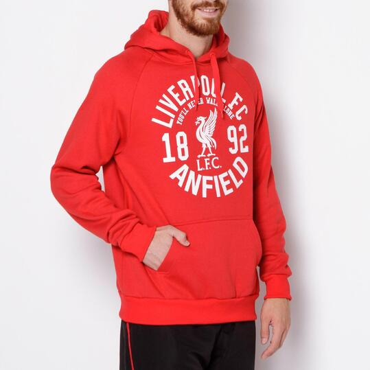 SOURCE LAB Sudadera Liverpool Roja