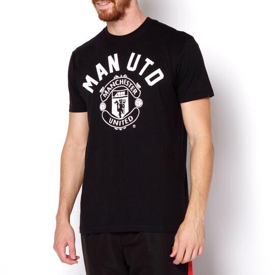 SOURCE LAB Camiseta Manchester United Negra
