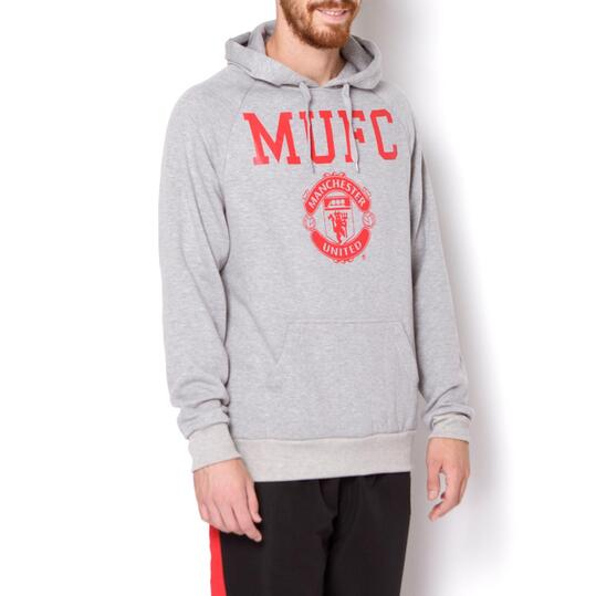 SOURCE LAB Sudadera Manchester United Gris