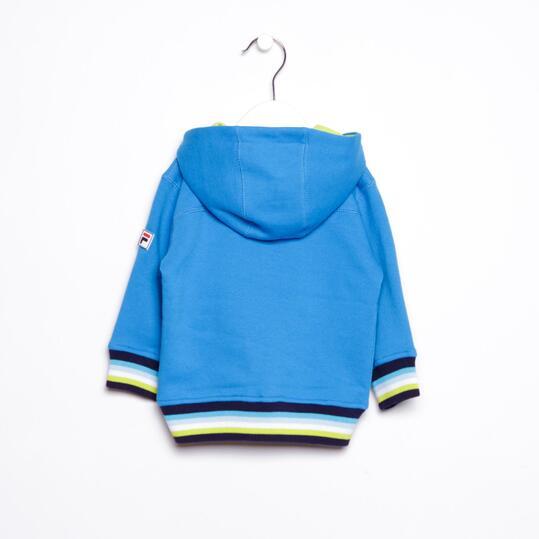 FILA Chándal Capucha Azul Baby (9m-18m)