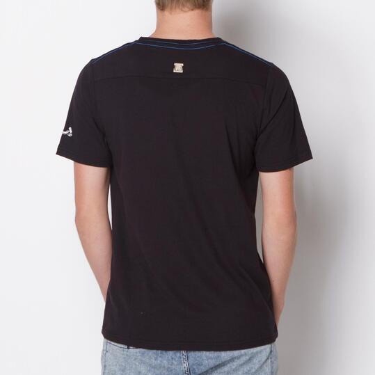 FILA Camiseta Manga Corta Negro Hombre