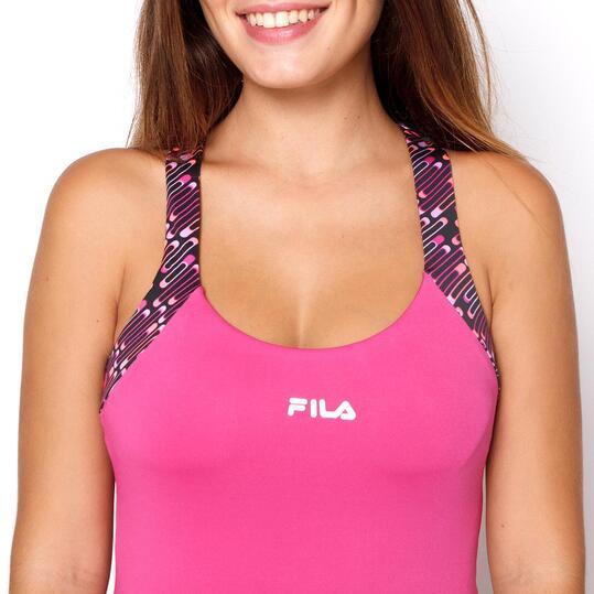 FILA Camiseta Tirantes Fucsia Mujer
