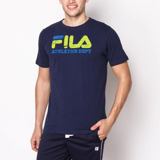 FILA Camiseta Marino Hombre