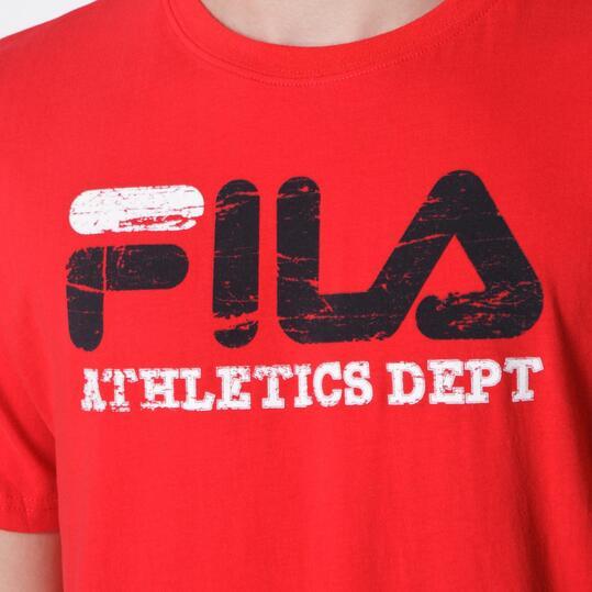 FILA Camiseta Rojo Hombre