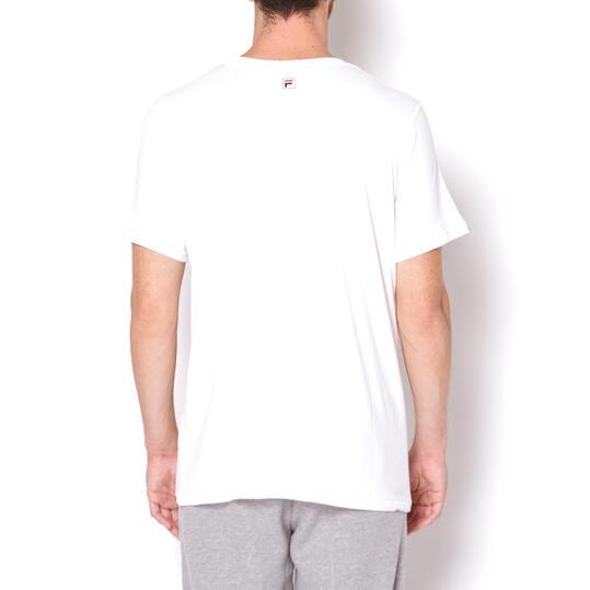 FILA Camiseta Blanco Hombre