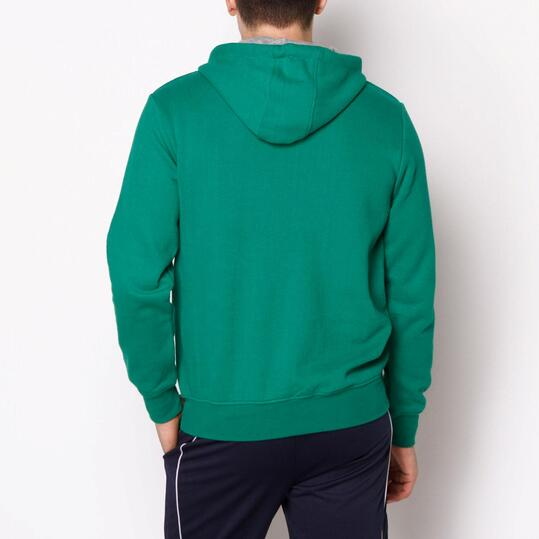 FILA BASIC Sudadera Capucha Verde Hombre