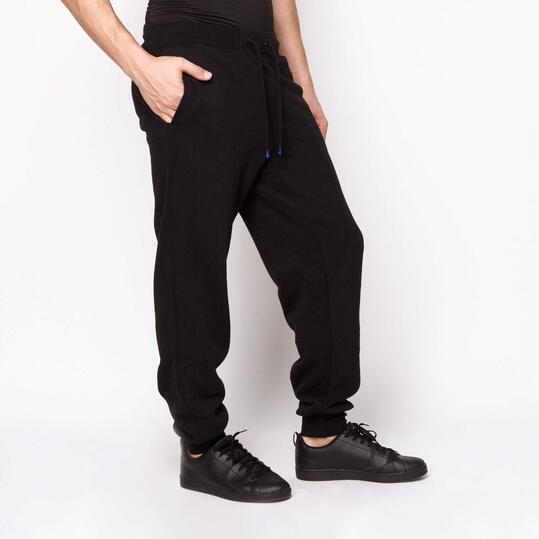 FILA Pantalón Largo Negro Hombre