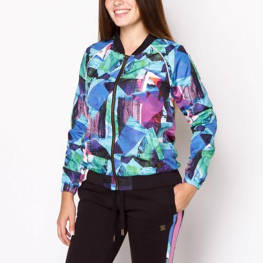 FILA Sudadera Cremallera Multicolor Mujer