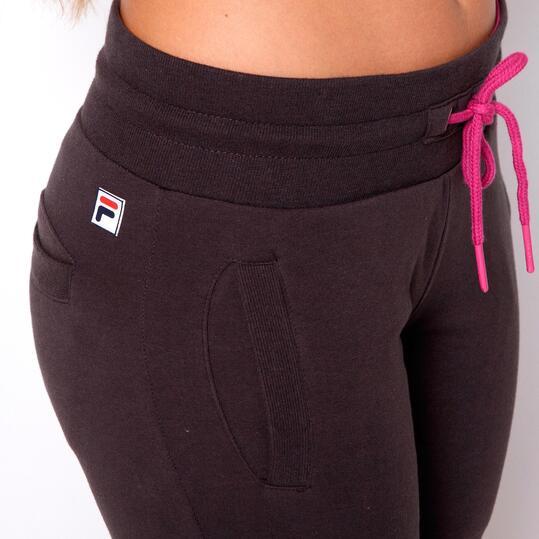 FILA BASIC Pantalón Largo Chándal Gris Mujer