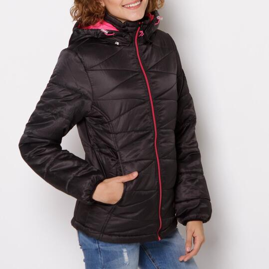 Chaqueta Negra Mujer TRUNK&ROOTS