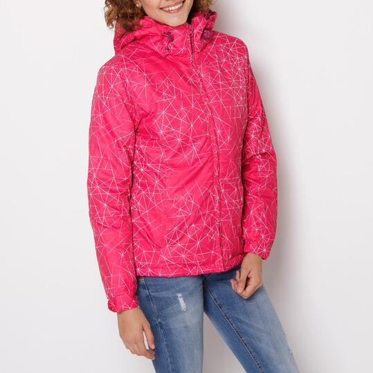 Chaqueta Morada Mujer TRUNK&ROOTS