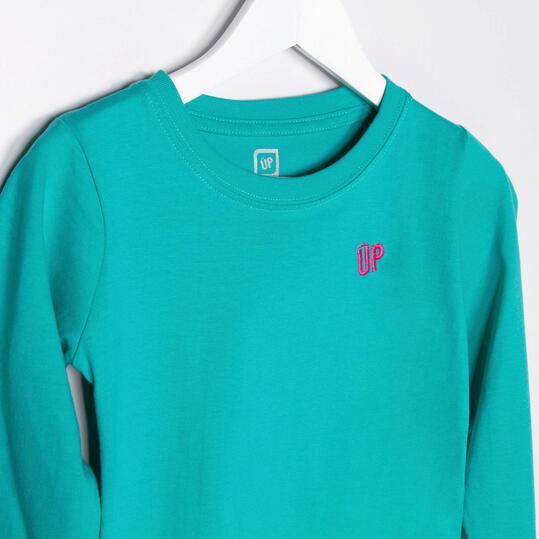 UP Camiseta Manga Larga Verde Niña (2-8)