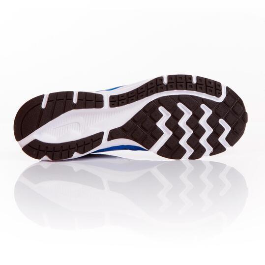 NIKE DOWNSHIFTER 6 Zapatillas Running Azul Blanco Hombre