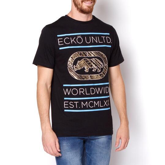 ECKO REFRACT Camiseta Manga Corta Hombre