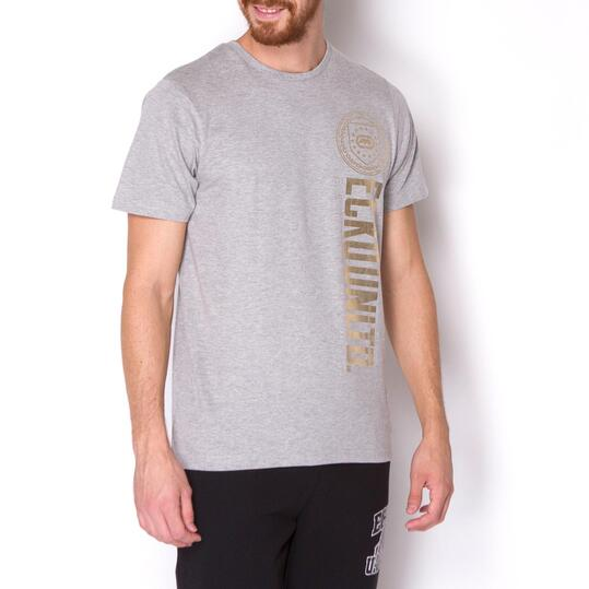 ECKO TEXTURAL Camiseta Manga Corta Gris Hombre