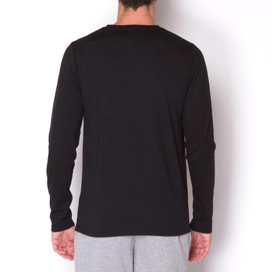 ECKO HOUSTON Camiseta Manga Larga Negro Hombre