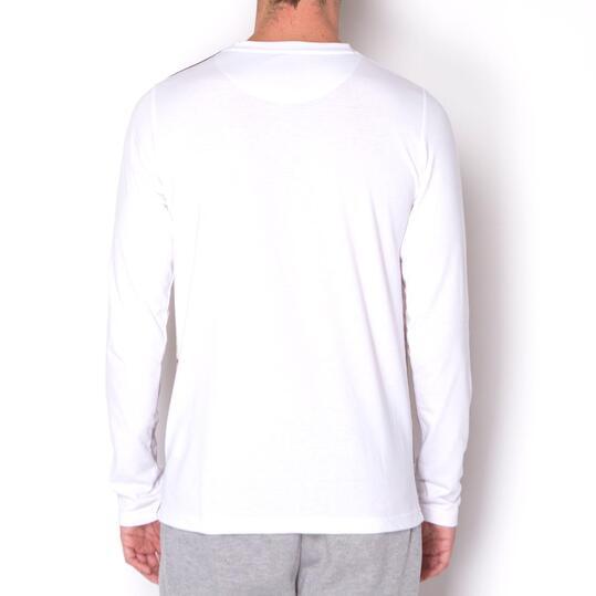 ECKO CORTLAND Camiseta Manga Larga Blanca Hombre