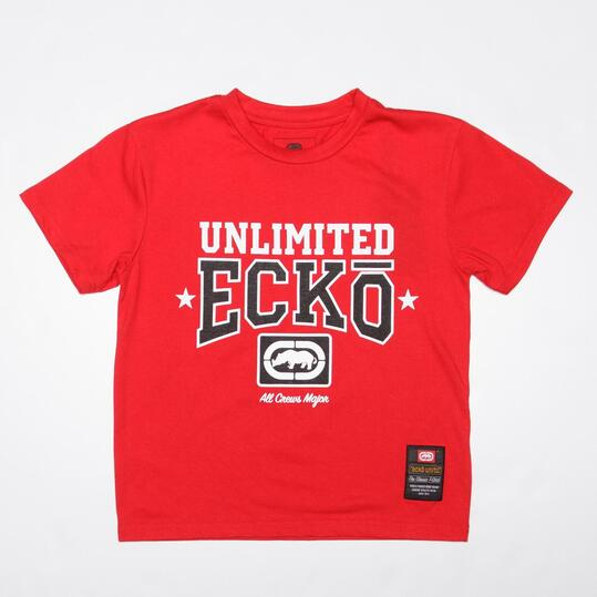 ECKO Camiseta Roja Niño