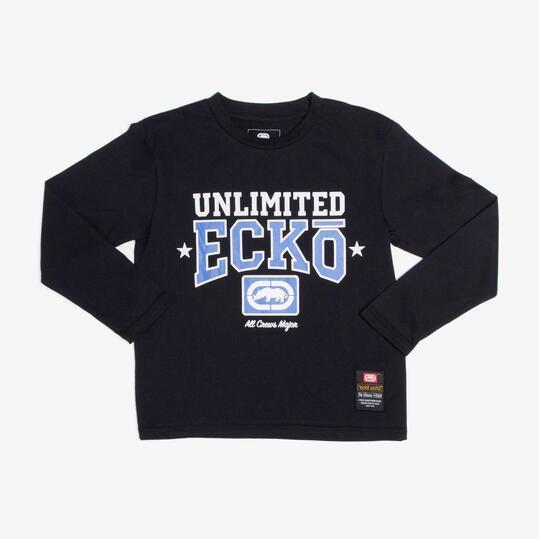 ECKO PARKWAY Camiseta Negra Niño