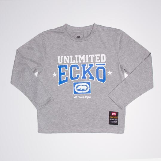 ECKO PARKWAY Camiseta Gris Niño