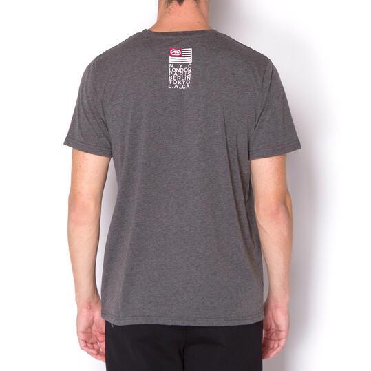 ECKO MADRE Camiseta Gris Hombre