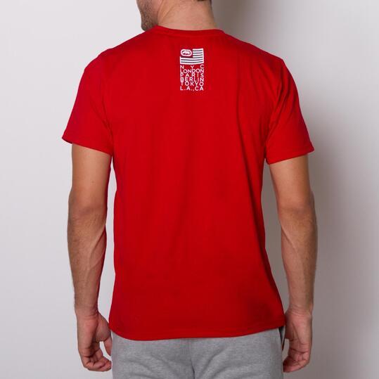 ECKO MADRE Camiseta Roja Hombre