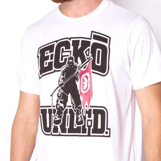 ECKO MADRE Camiseta Blanca Hombre