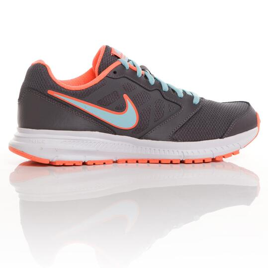 NIKE DOWNSHIFTER Zapatillas Running Gris Mujer