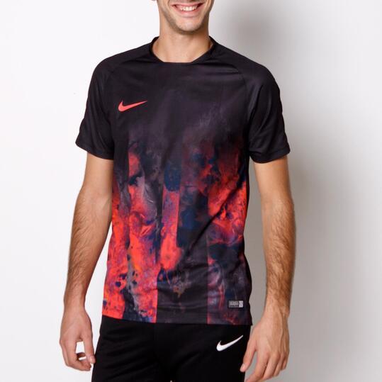 NIKE RONALDO Camiseta Estampada Negro Hombre