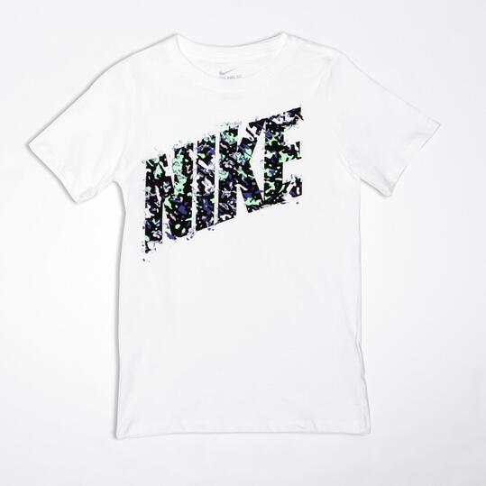 NIKE Camiseta Manga Corta Blanca Niño (10-16)