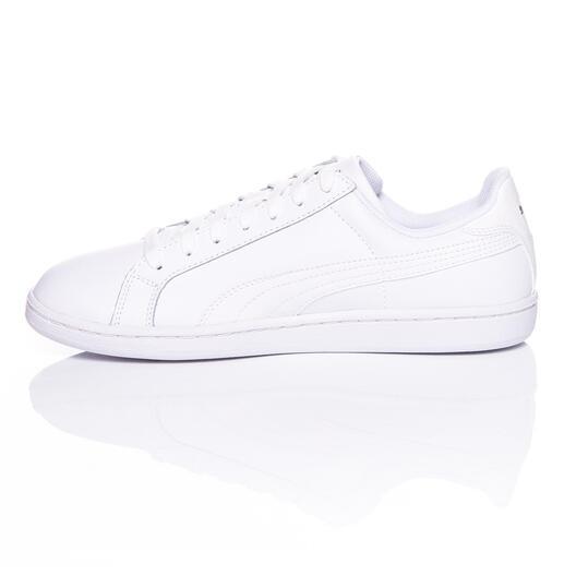 PUMA Zapatillas Clásicas Blancas Hombre