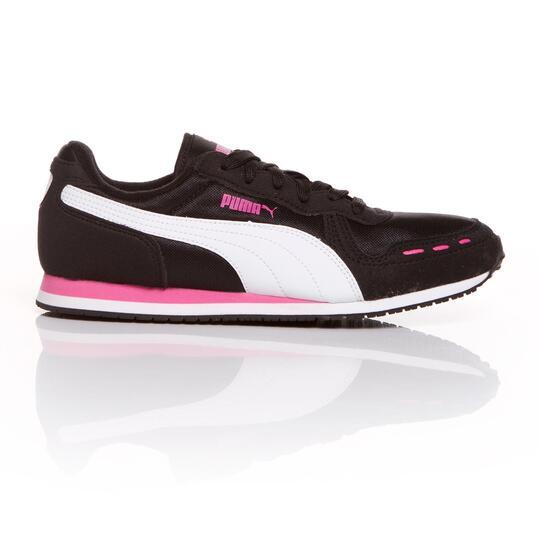 PUMA CABANA Sneakers Negro Rosa Mujer