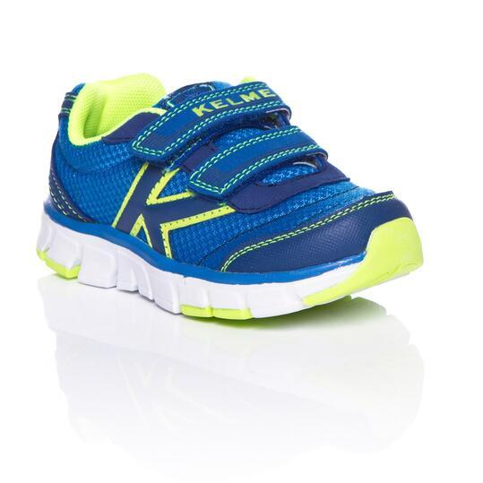 KELME Zapatillas Running Azul Niño