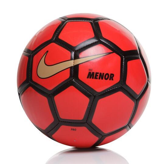 NIKE MENOR Balón Fútbol Sala Rojo