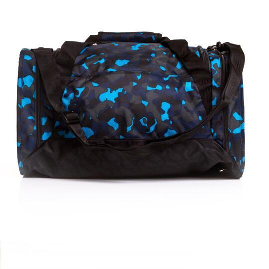 NIKE BRASILIA Bolsa Deporte Camuflaje Azul Negro