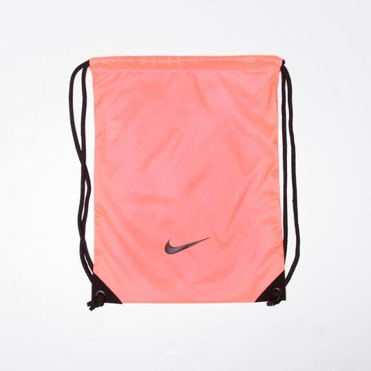 NIKE FUNDEMENTALS Gymsack Coral
