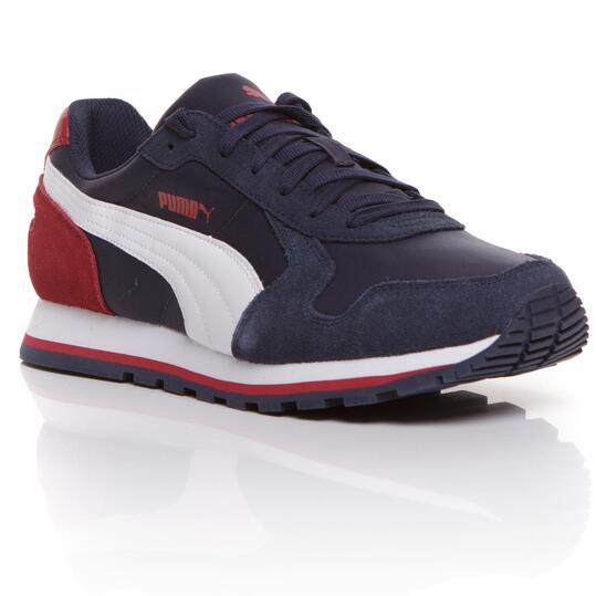 PUMA RUNNER Sneakers Hombre Marino Granate