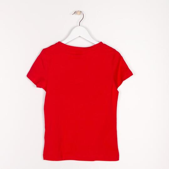 PUMA GRAPHIC Camiseta Roja Niña (10-16)
