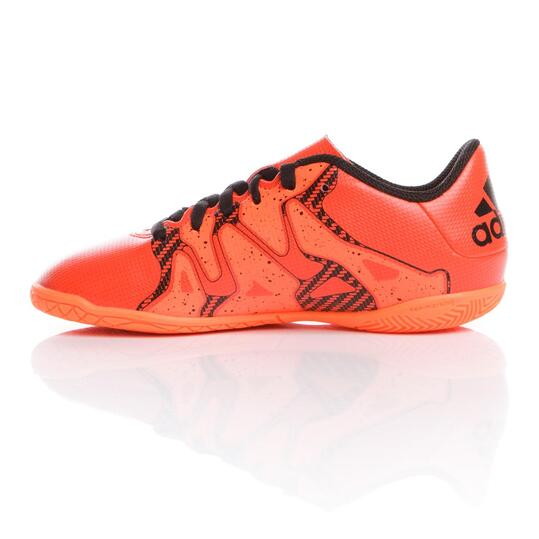 ADIDAS X 15,4 IN Zapatillas Fútbol Sala Naranja  Niño (28-35)