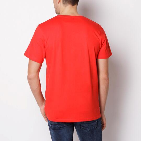 ZOOYORK CHRYSLER Camiseta Manga Corta Roja Hombre