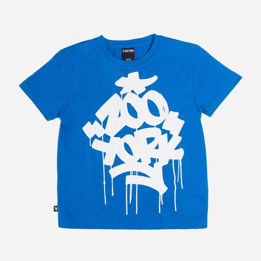 ZOOYORK STATUE Camiseta Azul Niño