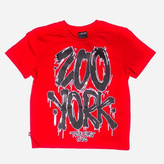 ZOOYORK GRAFFITI Camiseta Roja Niño