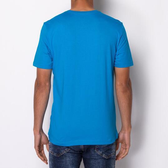 PUMA FUN Camiseta Manga Corta Azul Hombre