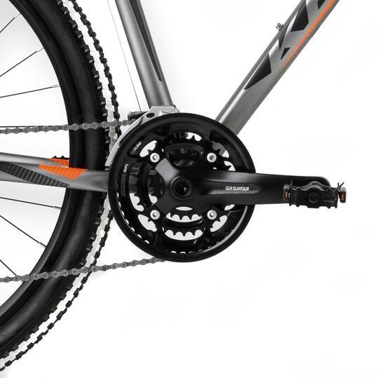 KROSS HEXAGON R8 Bicicleta Montaña Plata