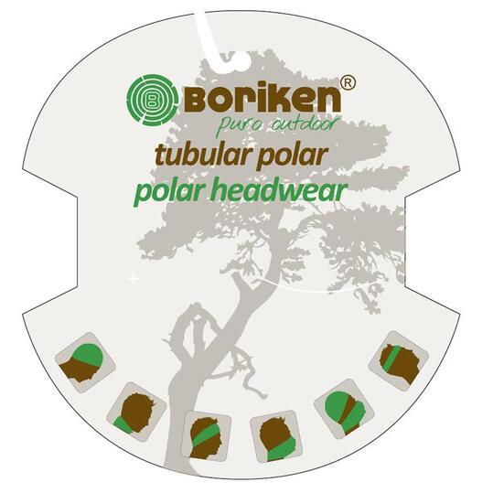 BORIKEN Bufanda Tubular Polar Verde