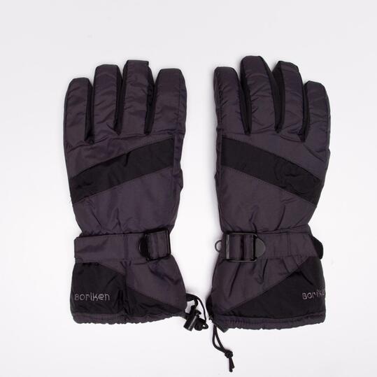 Guantes Nieve BORIKEN Gris Negro Hombre
